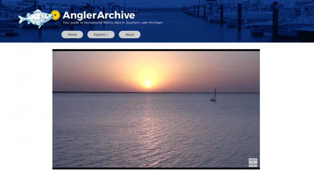 Angler Archive website