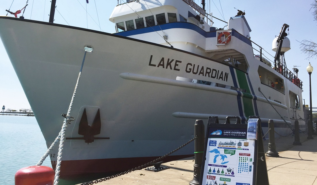 U.S. E.P.A. research vessel Lake Guardian