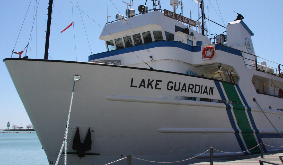 US EPA research vessel, Lake Guardian