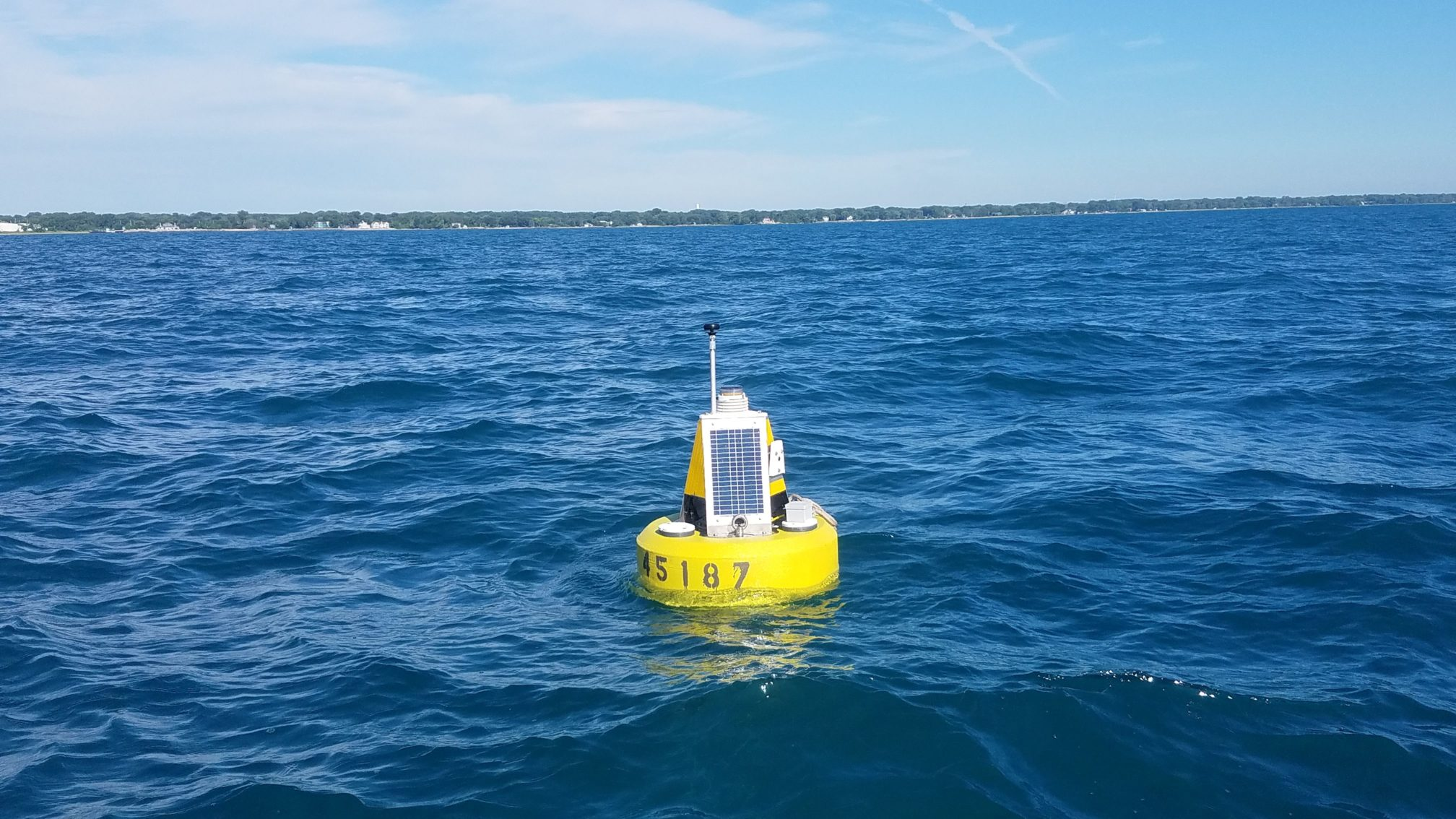 Buoy successfully deployed in Winthrop Harbor