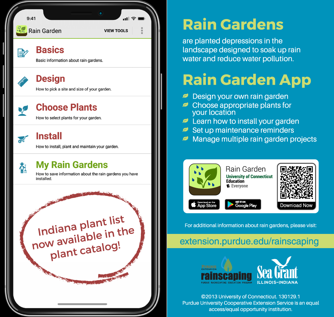 Rain Garden app screenshot