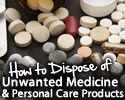 How to Dispose of Unwanted Medicine & Personal Care Products Logo