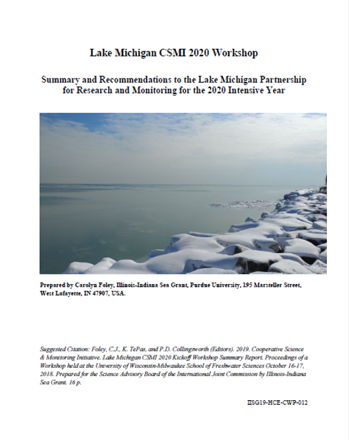 Cooperative Science and Monitoring Initiative Lake Michigan CSMI 2020 Workshop Report Thumbnail