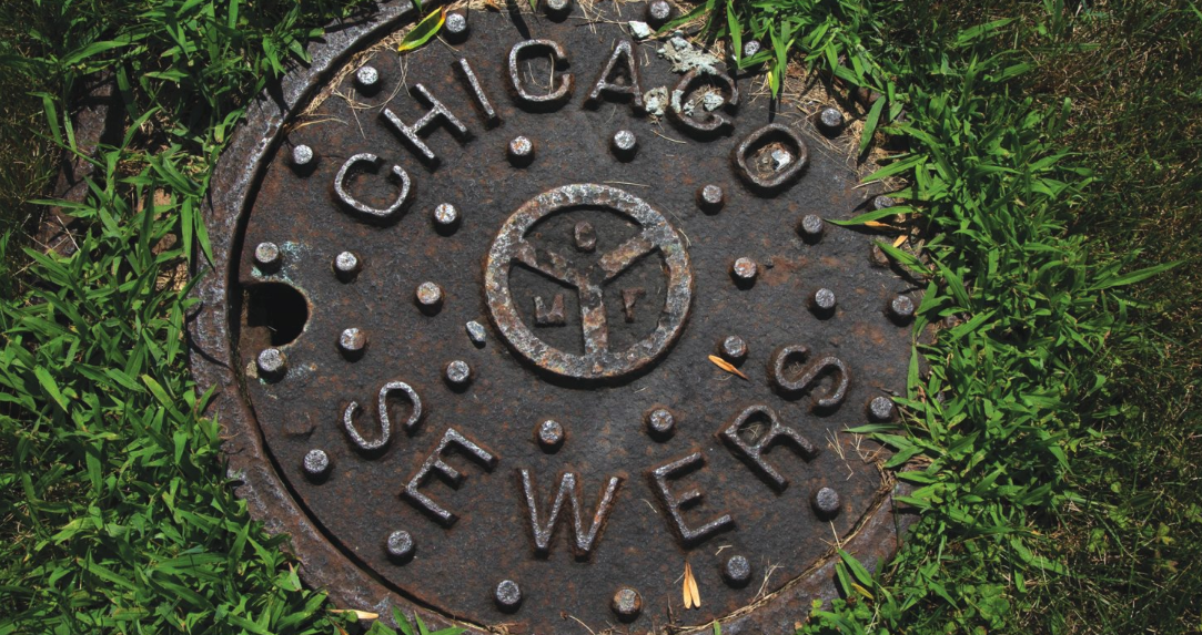 """Chicago Sewers"" manhole cover"