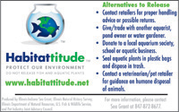 Got Fish and Aquatic Plants? Get a Habitattitude™ Magnet Thumbnail