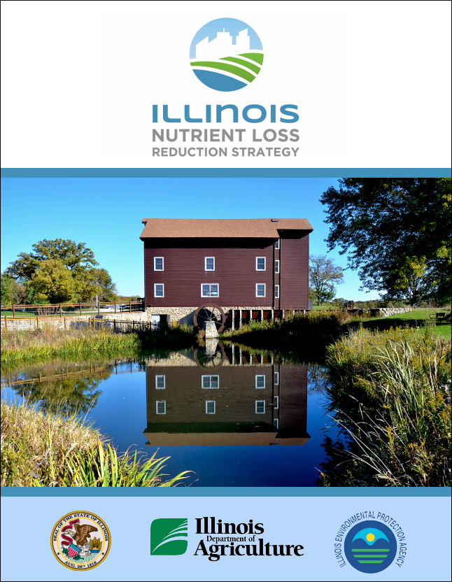 cover of the Illinois Nutrient Loss Reduction Strategy