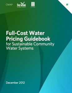 Cover of the Full-Cost Water Pricing Guidebook