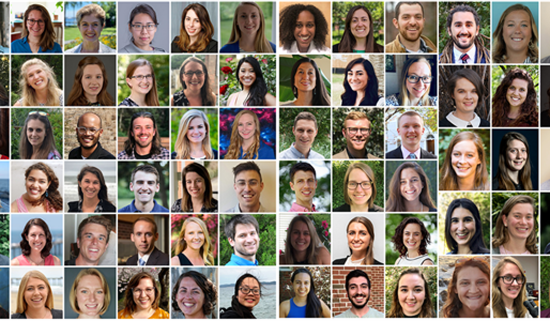 collage of headshots of 2020 Knauss Fellowship finalists