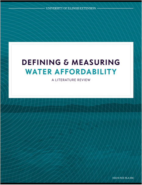 Defining & Measuring Water Affordability: A Literature Review Thumbnail