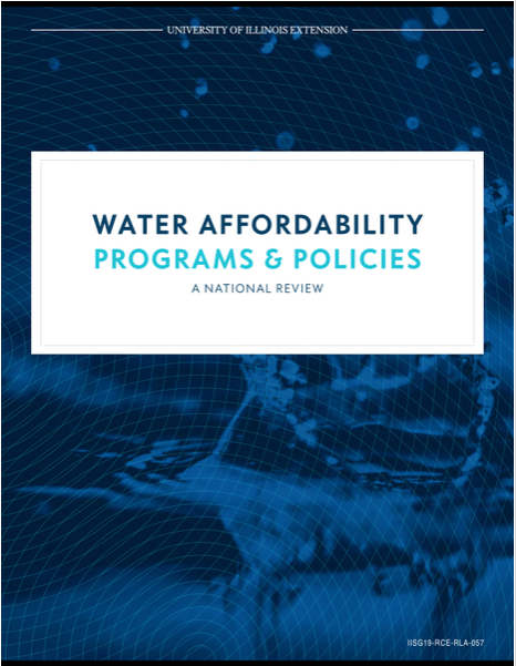 Water Affordability Programs & Policies: A National Review Thumbnail