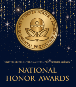 "U.S. EPA logo and ""National Honor Awards"""