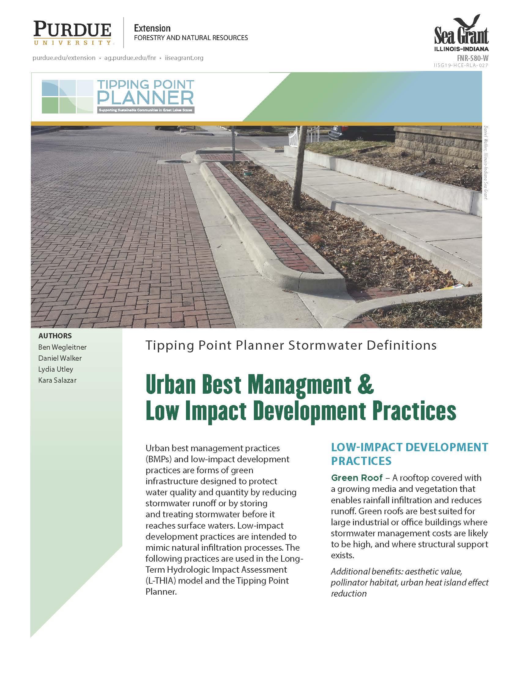 Urban Best Management & Low Impact Development Practices Thumbnail