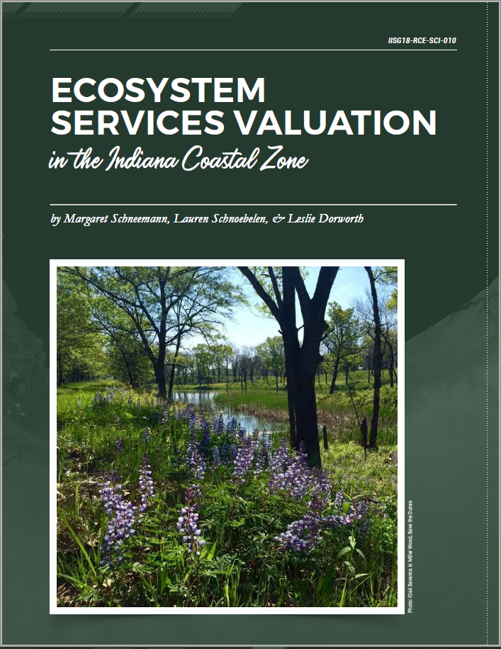 Ecosystem Services Valuation in the Indiana Coastal Zone Thumbnail