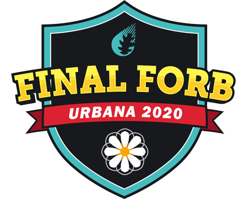 Final Forb logo - Urbana 2020 - with leaf and flower graphics