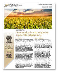 Climate Change: Communication Strategies to Support Local Planning Thumbnail