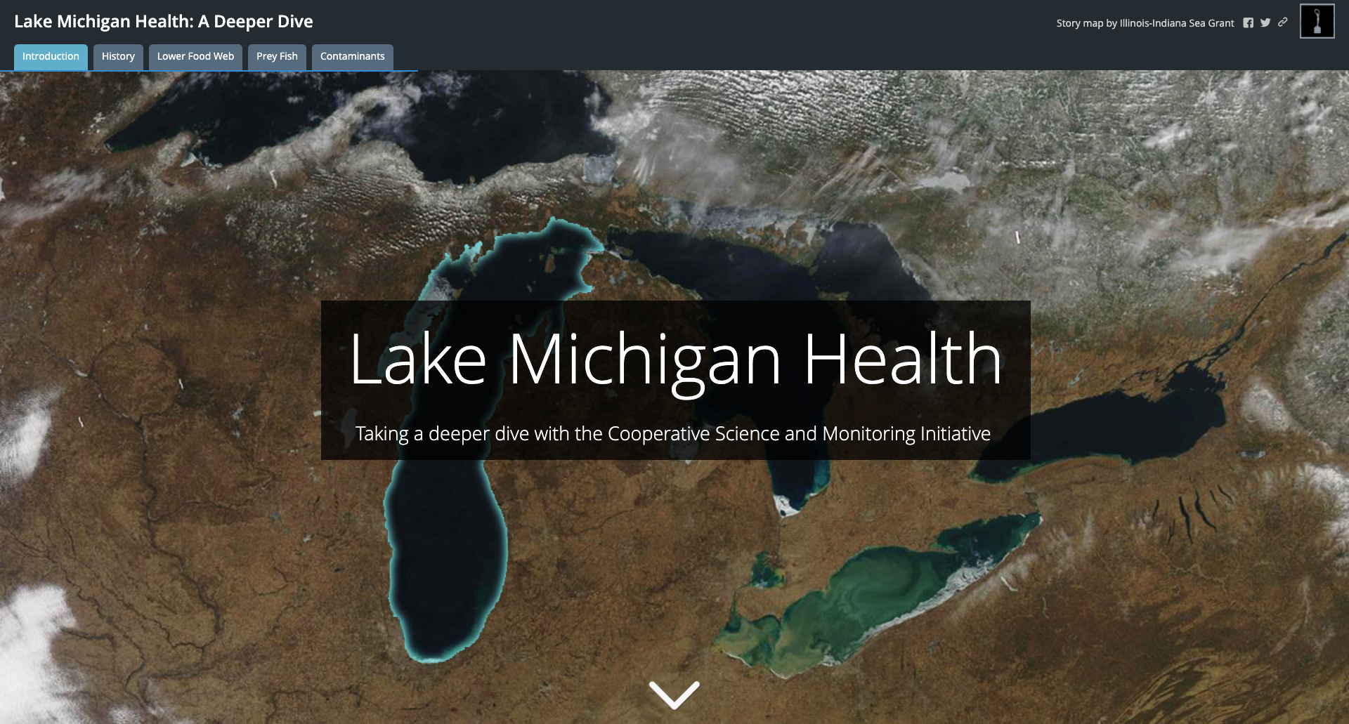 Lake Michigan Health website homepage