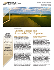 Climate Change and Sustainable Development Thumbnail