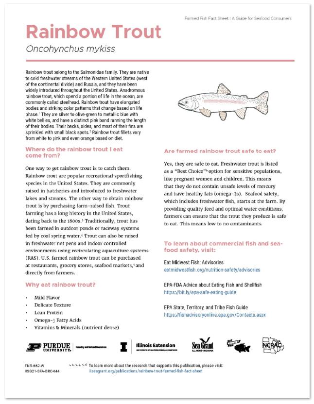 Rainbow Trout Farmed Fish Fact Sheet Thumbnail