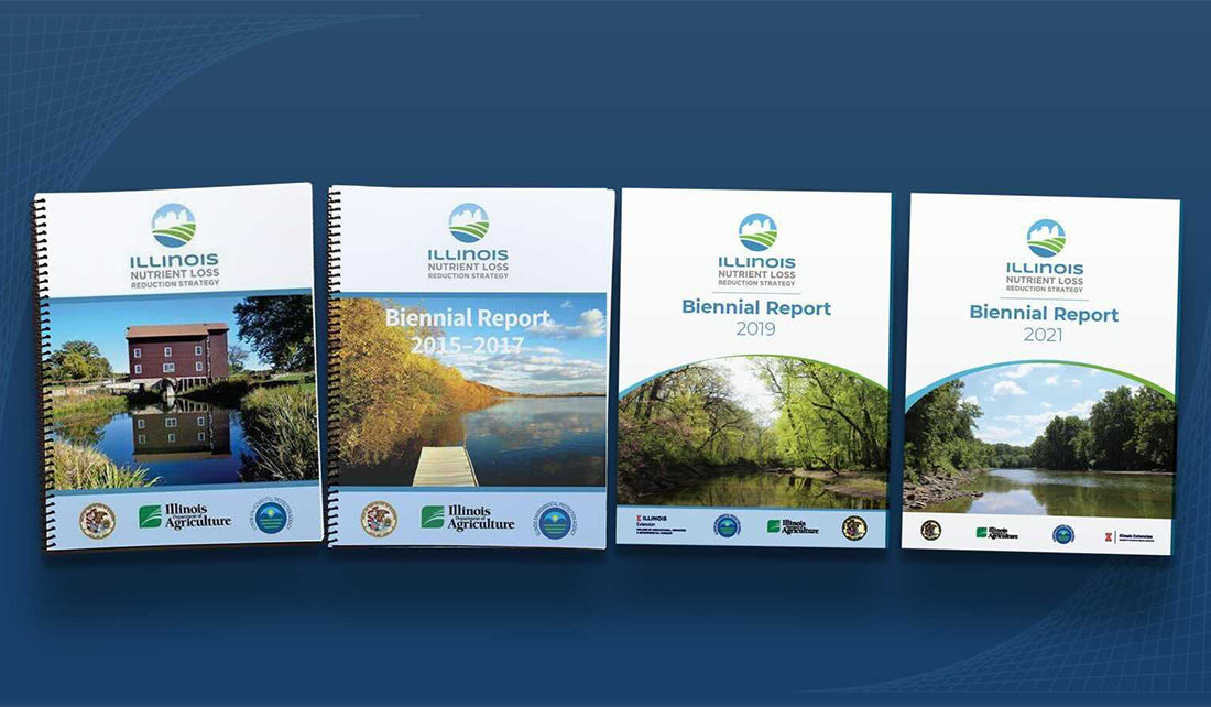 Illinois Nutrient Loss Reduction Strategy Biennial Report 2021 - report cover